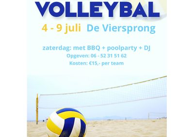 Poster Beachvolleybal