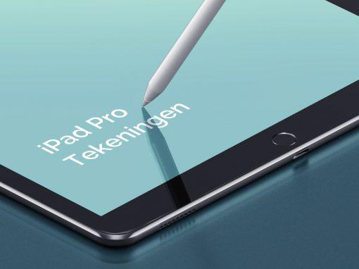 iPad Pro Tekeningen